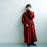 40's PENDLETON wool stripe gown
