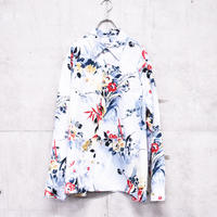 flower art printed shirt