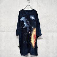 cosmo printed tie dye tee