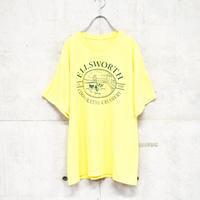 farm printed yellow tee