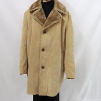 70's MIGHTY-MAC corduroy boa coat