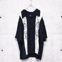 S/S design 2tone shirt