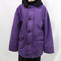 80's  JOHN PARTRIDGE purple cotton jacket