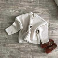 ●sale● oneボタンknit cardigan