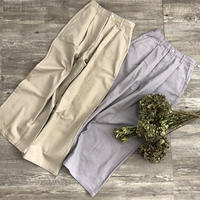 cotton wide pants (mama)
