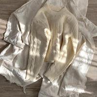 ショルダーdesign knit (mama)