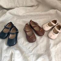 tabi風design kids shoes