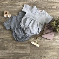 simple check rompers