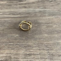 round ring gold (mama)