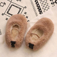 エコファーflat shoes