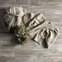 ●sale●ワイドスリーブガーゼ風blouse