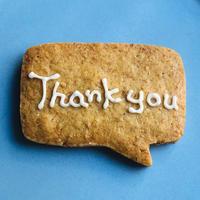 メッセージクッキー〈Thank you〉