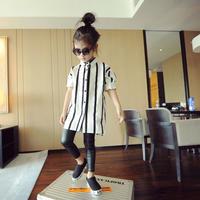 【 kids】stripe shirt