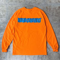 "High Context ""Blue R"" L/S Tee"