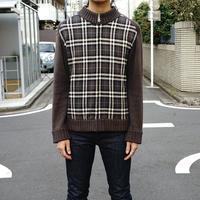 BURBERRY BLACK LABEL knit jacket