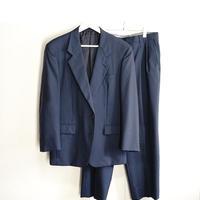 yves saint laurent set up suit navy blue