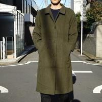 vintage wool coat green