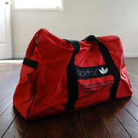 90s adidas bag red