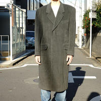 vintage wool Chesterfield coat