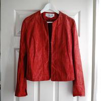 max mara suede leather jacket