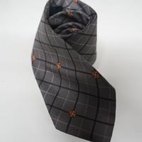 BURBERRY neck tie grey