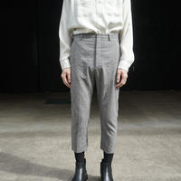 LANVIN check trousers