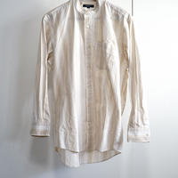 burberry no collar shirt