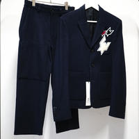 新品KRISVANASSCHE2014aw set up suit