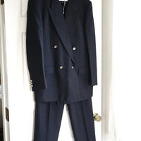 未使用 yves saint laurent double set up suit