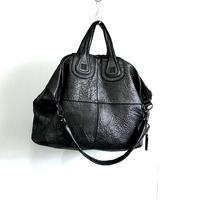 "givenchy ""nightingale""leather bag"