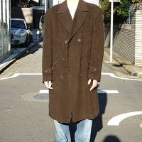vintage double Chesterfield coat