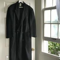 giorgio armani  cashmere double coat