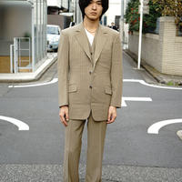 vintage  three‐piece  stripe set up suit