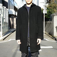 agnes b made in Flance zip up coat