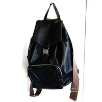 jean paul gaultier leather back pack