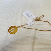 新品 mm6 maison margiela 2019aw necklace gold
