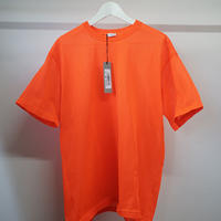 新品 Jil Sander polyester big T orange
