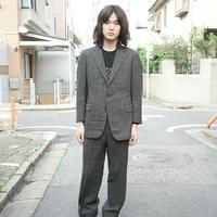 Burberry tweed set up suit