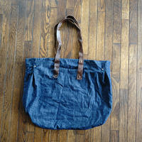 "uteploier ""大容量"" denim bag"