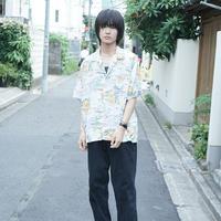 vintage rayon shirt♯3 Pao Clulu