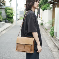 TRUSSARDI made in Ityaly leather shoulder bag