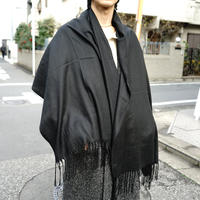 "新品 sample ""超大判""cashmere muffler D"
