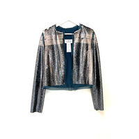 新品 maison margeila  silk spangle jacket 40