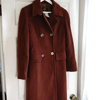 fendi cashmere double coat