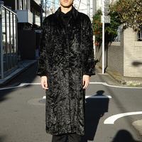 EMPORIO ARMANI velvet coat