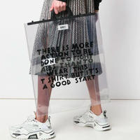 新品 mm6 maison margiela clear aids bag