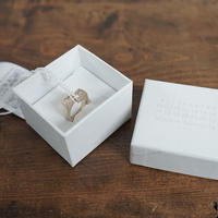 新品 maison margiela zirconia ring