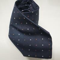 BURBERRY neck tie navy
