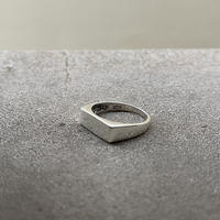 """atelier sample silver925 ring""""square"""" 15号"""
