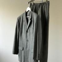 issey miyake set up suit